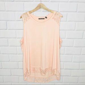 🌵 Cyrus plus size lace tunic top